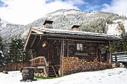 Urige Berghütte bei Kitzbühel