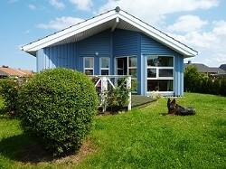 Ferienhaus mit Sauna, Meerblick