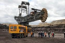 Erlebnis aktiver Tagebau mit excursio zur Lausitzer Braunkohle