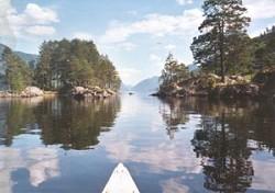 Kanusafari im herrlichen Kanuland Süd Schweden zur Mittsommerzeit