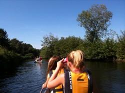 Klassenfahrten Kanuverleih, Kanutouren für Schulen mit Bootstran...