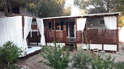Mobilheim Agava Camping Simuni, Pag, Kroatie