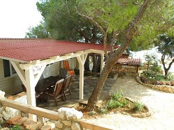 Mobilheim Casa Mare, 15 m von Strand entfernt, Camping Simuni...