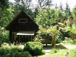 Ferienhütte in Österreich, Steiermark 'Häuserl im Wald' Selbstve...