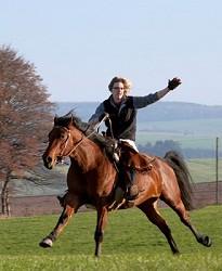 Reiterurlaub Reiterurlaub in Deutschland für Erwachsene Westernr...