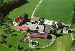 Ferienhaus Bauernhof Ferienhaus am Bauernhof inmitten von grünen...