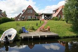 Ferienhaus 'Friesenperle' am Timmeler Meer.