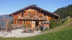 Gerstreitalm; beliebtes Wanderziel mit Übernachtungsmöglichkeit...