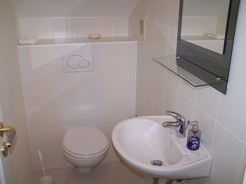 Appartement 2, Gäste WC