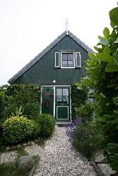 Ferienhaus Grünes Ferienhaus mit Wintergarten in Nordholland