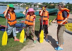 Kindertraum Loire Eine Kanutour für Eltern und Kinder
