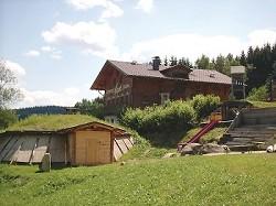 Berghuette im Bayerischen Wald, Gruppenhaus Schullandheim im Ski...