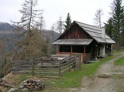 Almhütte Urige Almhütte in den Nockbergen, nähe Turracher Höhe