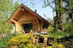 Uriges Blockhaus in traumhafter Waldumgebung