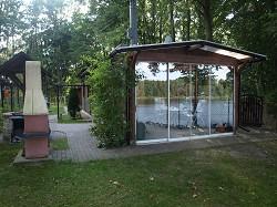 Ferienhaus direkt am Wentowsee mit Bootsschuppen und Angelkahn...