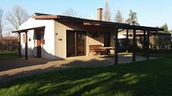 Ferienhaus Haus An der Alten Elbe mit direkten Blick zum See Ang...