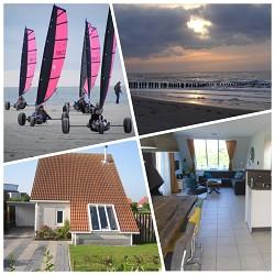 Ferienhaus Luxus 5*Ferienhaus mod. eingerichtet zwischen Renesse...