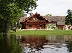 Ferienhaus auf dem Fischerhof im Kanadischen Blockstammhaus dire...