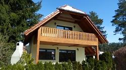 Ferienhaus 4 Sterne Ferienhaus 'Silz' mit direkter Lage im Heide...