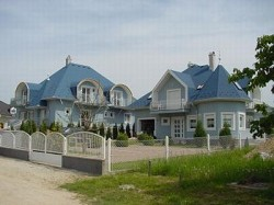 Ferienhaus mit Pool am Plattensee