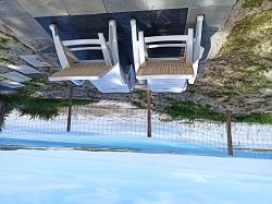 Ferienhaus direkt am Strand in St. Pabu