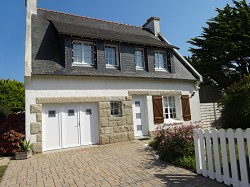 Ferienhaus Bretagne Ferienhaus in Brignogan Plage mit 600m² eing...
