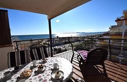 Ferienwohnung Bahia Vista Mar für 6 Pers., Klima, am Strand mit...