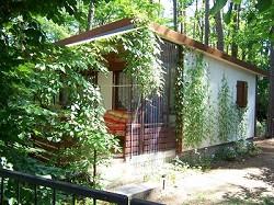 Ferienhaus Bungalow für bis zu 3 Personen auf naturbelassenem Wa...
