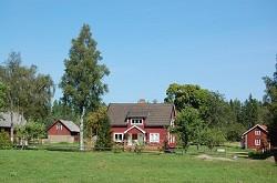 Ferienhäuser in Südschweden. Kyrkekvarn für Reiter, Angler, Wand...