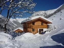 Ferienhaus Wanderurlaub Familienhütte im Tiroler Bergdorf Gramai...