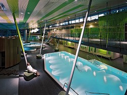 Pension Spreeaue Burg, Wellness in der Spreewald Therme