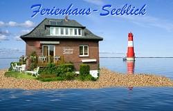 Ferienhaus Ferienwohnung im Ferienhaus Seeblick Nordsee mit Hund...