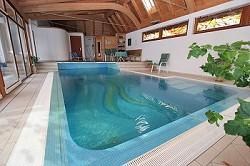 Ferienhaus 'Wasserhaus' mit Schwimmbad, Sauna und Whirlpool im...